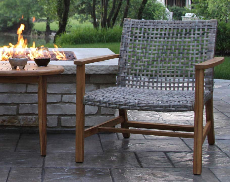 Teak Amp Wicker Furniture Collection From Outdoor Interiors